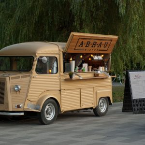 La carte de professionnel ambulant pour un Food-Truck