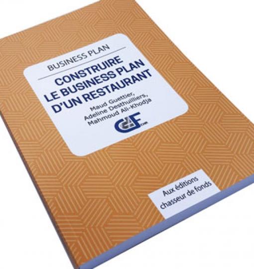 Livre «Construire le business plan du restaurant» – Format papier ou e-book