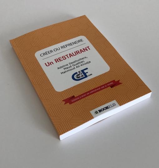 Livre «Créer ou reprendre un Restaurant» V2 – Format papier ou e-book